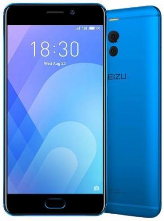 Смартфон Meizu M6 Note синий 5.5 32 Гб LTE Wi-Fi GPS 3G M721H_32GB_BLUE смартфон meizu m5 note серебристый 5 5 32 гб lte wi fi gps 3g
