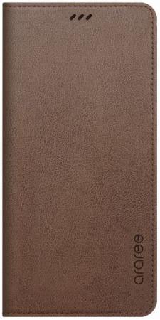 Чехол (флип-кейс) Samsung для Samsung Galaxy A8+ Designed Mustang Diary коричневый (GP-A730KDCFAIE) gangxun blackview a8 max корпус высокого качества кожа pu флип чехол kickstand anti shock кошелек для blackview a8 max
