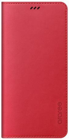 Чехол (флип-кейс) Samsung для Samsung Galaxy A8+ Designed Mustang Diary красный (GP-A730KDCFAID)