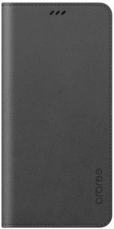 Чехол (флип-кейс) Samsung для Galaxy A8+ Designed Mustang Diary серый (GP-A730KDCFAIB)