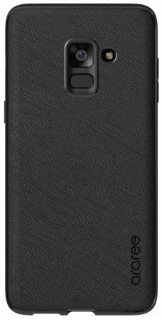 Чехол (клип-кейс) Samsung для Samsung Galaxy A8+ araree Airfit Prime черный (GP-A730KDCPBIA) клип кейс ibox fresh для samsung galaxy s5 mini черный