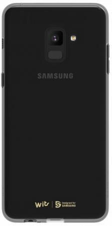 Чехол (клип-кейс) Samsung для Samsung Galaxy A8 WITS SOFT COVER черный (GP-A530WSCPAAC) клип кейс ibox blaze для samsung galaxy a3 2016 черный