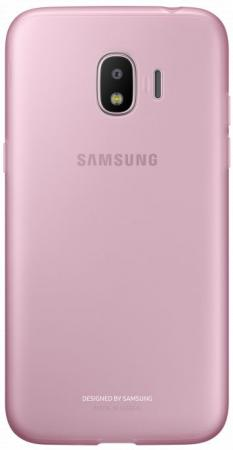 Чехол (клип-кейс) Samsung для Samsung Galaxy J2 (2018) Jelly Cover розовый (EF-AJ250TPEGRU) смартфон samsung galaxy j2 prime gold