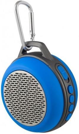 цена на Портативная акустика Perfeo Solo 5Вт Bluetooth синий PF-BT-SOLO-BL