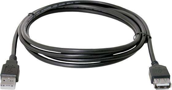 Фото - Кабель удлинительный USB 2.0 AM-AF 5м Defender USB02-17 87454 кабель удлинительный usb 2 0 am af 1 8м sven sv 004569