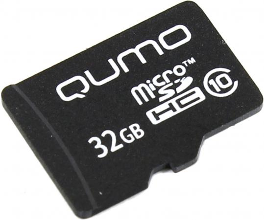Купить Карта памяти Micro SDHC 32Gb class 10 QUMO QM32GMICSDHC10NA