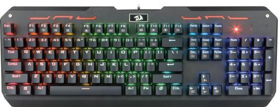 лучшая цена Клавиатура проводная Defender Varuna RU USB черный 74904