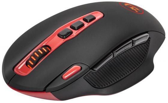 лучшая цена Мышь беспроводная Defender Redragon Shark чёрный USB 74828