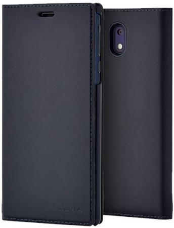 Чехол Nokia Slim Flip Cover для Nokia 3 синий чехол nokia slim flip cover для nokia 5 черный