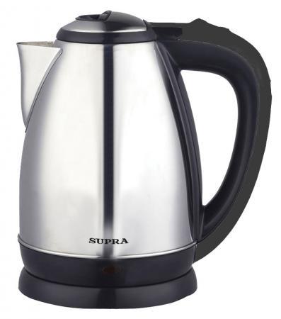 Чайник Supra KES-1830 2200 Вт серебристый 1.8 л нержавеющая сталь supra kes 2301 grey