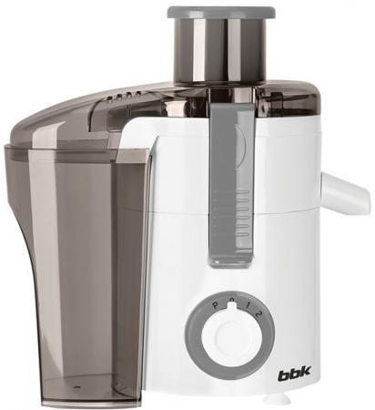 Соковыжималка BBK JC060-H11 550 Вт серый белый соковыжималка bbk jc060 h02 black metallic