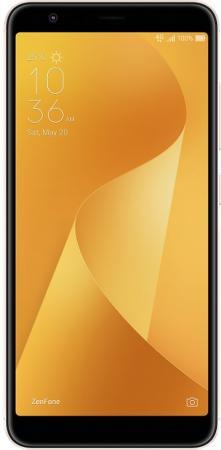 Смартфон ASUS Zenfone Max Plus (M1) ZB570TL золотистый 5.7 32 Гб LTE Wi-Fi GPS 3G 90AX0183-M00100 смартфон asus zenfone 4 live zb553kl золотистый 5 5 16 гб lte wi fi gps 3g 90ax00l2 m01100