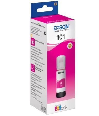 Чернила Epson C13T03V34A для Epson L4150/L4160/L6160/L6170/L6190 пурпурный струйное мфу epson l6160