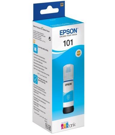 Чернила Epson C13T03V24A для Epson L4150/L4160/L6160/L6170/L6190 синий струйное мфу epson l6160