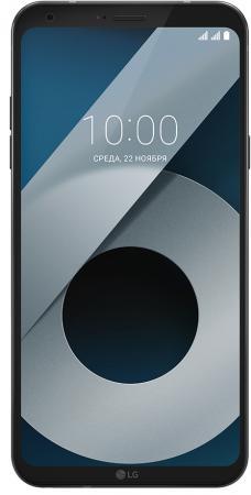 Смартфон LG Q6+ черный 5.5 64 Гб LTE Wi-Fi GPS 3G 4G LGM700AN.A4ISBK смартфон lg q6 32 гб черный lgm700an acisbk