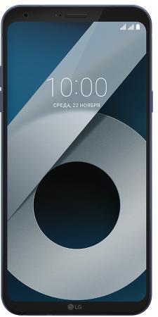 Смартфон LG Q6+ синий 5.5 64 Гб NFC LTE Wi-Fi GPS 3G LGM700AN.A4ISKU