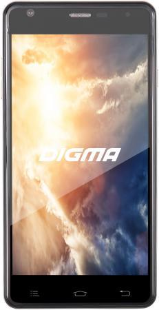 Смартфон Digma Vox S501 3G графитовый 5 8 Гб Wi-Fi GPS 3G VS5002PG смартфон digma vox s501 3g красный 5 8 гб wi fi gps 3g vs5002pg navitel
