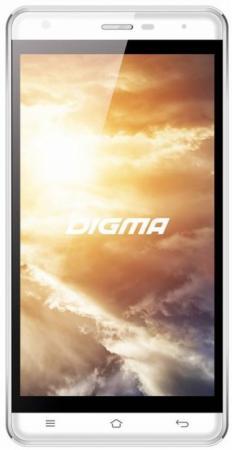 Смартфон Digma Vox S501 3G белый 5 8 Гб Wi-Fi GPS 3G VS5002PG смартфон 5 digma vox s505