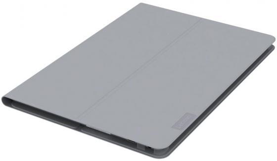 Чехол Lenovo для Lenovo Tab 4 TB-X304L Folio Case/Film полиуретан/пластик серый ZG38C01767 чехол для планшета lenovo plus folio case and film черный для lenovo tab 4 plus tb x704l [zg38c01774]