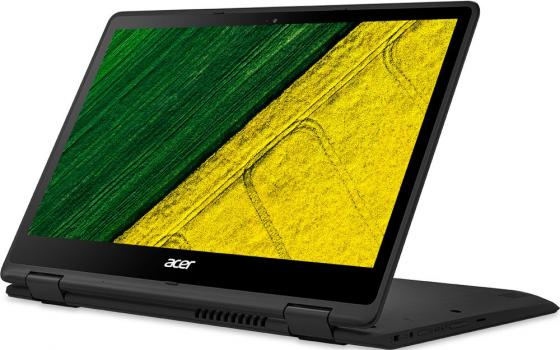 Ноутбук Acer Spin SP513-51-70ZK 13.3 1920x1080 Intel Core i7-7500U 256 Gb 8Gb Intel HD Graphics 620 черный Windows 10 Home NX.GK4ER.010 ноутбук hp elitebook 820 g4 12 5 1920x1080 intel core i7 7500u ssd 256 8gb intel hd graphics 620 серебристый windows 10 professional z2v73ea