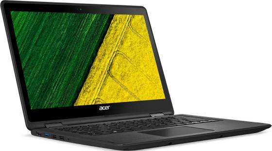 "Ноутбук Acer Spin SP513-51-70ZK 13.3"" 1920x1080 Intel Core i7-7500U 256 Gb 8Gb Intel HD Graphics 620 черный Windows 10 Home NX.GK4ER.010"
