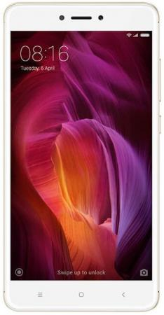 "Смартфон Xiaomi Redmi Note 4 золотистый 5.5"" 64 Гб LTE Wi-Fi GPS 3G (REDMINOTE4GD464GB)"