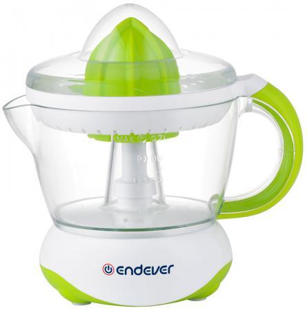 Соковыжималка ENDEVER Sigma-66 40 Вт белый зелёный соковыжималки электрические endever соковыжималка 98 sigma мощность 900 вт