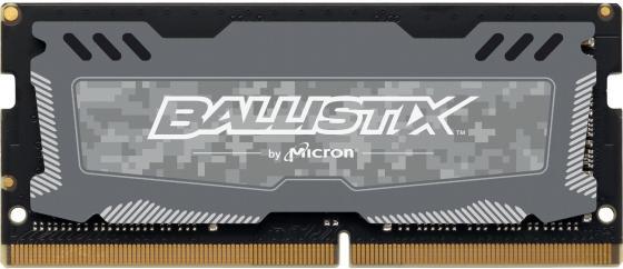 Оперативная память для ноутбука 16Gb (1x16Gb) PC4-21300 2666MHz DDR4 SO-DIMM CL16 Crucial BLS16G4S26BFSD