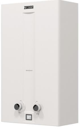 Водонагреватель газовый Zanussi GWH 12 Fonte Turbo 23600 Вт 12 л водонагреватель газовый zanussi gwh 10 fonte