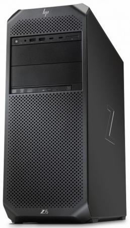 Рабочая станция HP Z6 G4 Xeon 3104 Bronze 16 Гб SSD 256 Гб Windows 10 Pro 2WU43EA hp z1 рабочая станция
