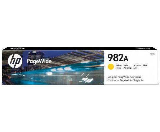 Картридж HP № 982A T0B29A для HP PageWide Enterprise Color 765/780/785 желтый 16000стр картридж hp pigment ink cartridge 70 black z2100 3100 3200 c9449a