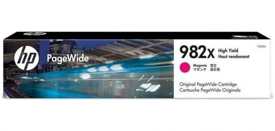 Картридж HP № 982A T0B28A для HP PageWide Enterprise Color 765/780/785 пурпурный 16000стр hp 765 matte black f9j55a
