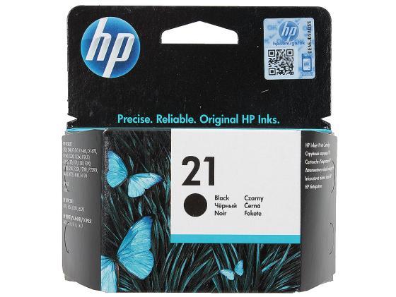 Картридж HP C9351AE №21 для DeskJet3920 D1360 D2360 F380 черный цена