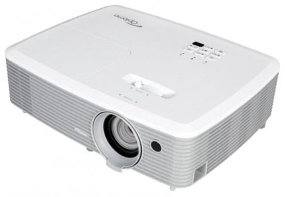 Проектор Optoma W400 1280x800 4000 люмен 22000:1 белый 95.78C01GC0E проектор optoma eh400 1920х1080 4000 люмен 22000 1 белый 95 78e01gc0e