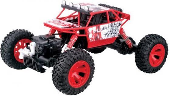 Машинка на радиоуправлении Пламенный мотор Краулер-Багги ПМ 005 красный от 3 лет пластик, металл 870232