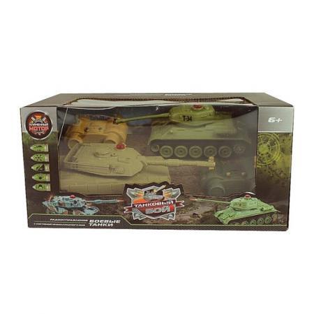 Танковый бой р/у 1:32 Т34 - Abrams M1A2 радиоуправляемые игрушки танковый бой р у 1 24 т34 против тигра