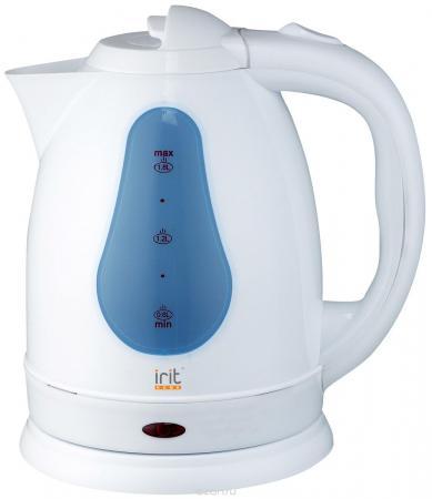 Чайник Irit IR-1230 1500 Вт белый 1.8 л пластик цена