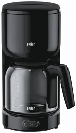Кофеварка Braun KF 3120 1000 Вт черный
