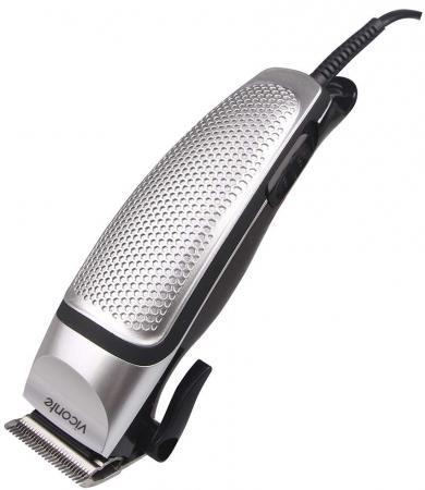 Машинка для стрижки волос Viconte VC-1470 серебристый щипцы для волос viconte vc 6740