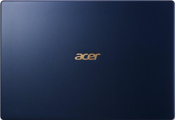 "Ноутбук Acer Aspire Swift SF514-52T-89UK 14"" 1920x1080 Intel Core i7-8550U 512 Gb 8Gb Intel UHD Graphics 620 синий Windows 10 Home NX.GTMER.004"