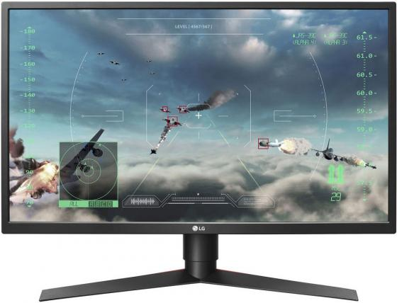 Фото - Монитор 27 LG 27GK750F-B черный красный TN 1920x1080 400 cd/m^2 1 ms HDMI DisplayPort Аудио USB 27GK750F-B.ARUZ автомагнитола jvc kd r571 usb mp3 cd fm rds 1din 4x50вт черный