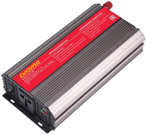 Автомобильный инвертор напряжения Digma DCI-1000 1000Вт автомобильный инвертор напряжения belkin f5c412eb300w