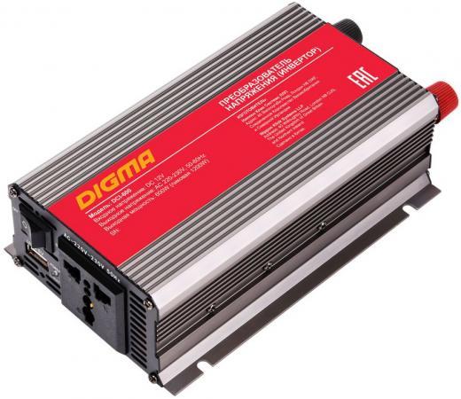 Автомобильный инвертор напряжения Digma DCI-600 600Вт