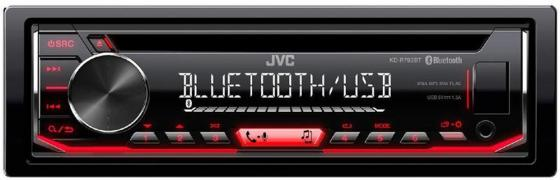 Автомагнитола JVC KD-R792BT USB MP3 CD FM RDS 1DIN 4x50Вт черный the big six