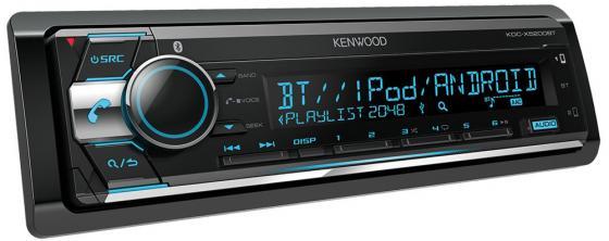 Автомагнитола Kenwood KDC-X5200BT USB MP3 CD FM RDS 1DIN 4х50Вт черный автомагнитола kenwood kdc 220ui usb mp3 cd fm rds 1din 4х50вт черный