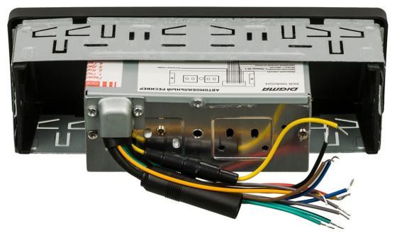 Автомагнитола Digma DCR-100G24 USB MP3 FM 1DIN 4x45Вт черный автомагнитола kenwood kdc 210ui usb mp3 cd fm 1din 4х50вт черный