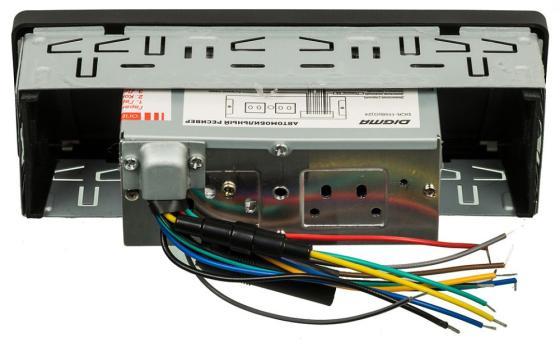 Автомагнитола Digma DCR-110G24 USB MP3 FM 1DIN 4x45Вт черный автомагнитола digma dcr 100b24