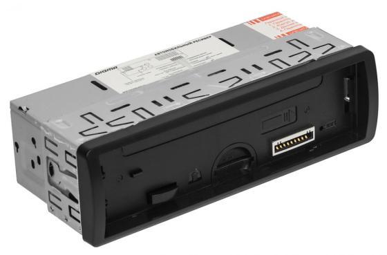 Автомагнитола Digma DCR-400B USB MP3 FM 1DIN 4x45Вт черный