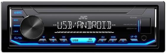 Автомагнитола JVC KD-X151 USB MP3 FM 1DIN 4x50Вт черный женская одежда