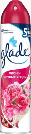 Освежитель воздуха Glade Пион и сочные ягоды 300 мл
